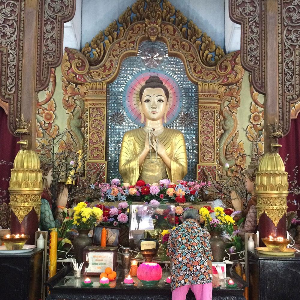 Burmese Goddess of Mercy