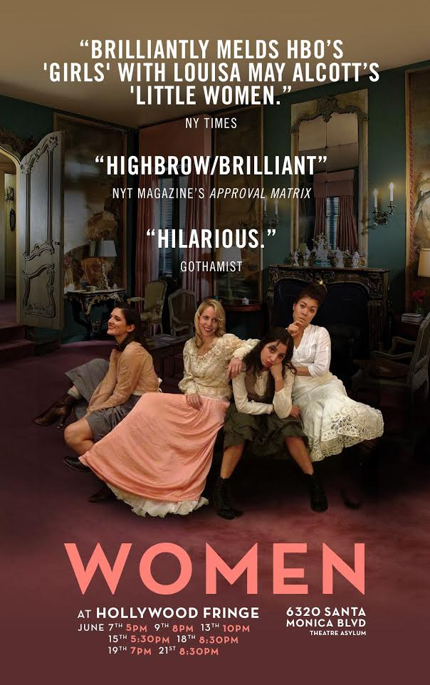 WOMEN by Chiara Atik Directed by Stephanie Ward, 2014. (Best of Hollywood Fringe, NY Times Critics' Pick).