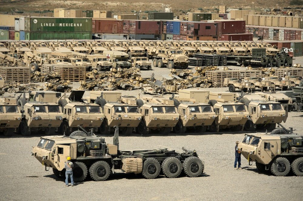 [Sending Military Equipment Back to the US from Afghanistan_Image Source: Timothy Lundberg]
