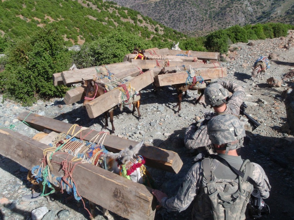 [Raid on Timber Smugglers in Kunar Province_Image Source: Amber Robinson]