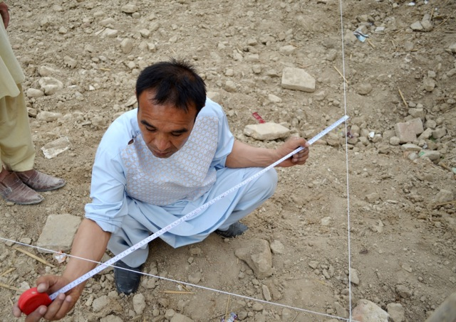 foundation excavation _ photo by Airokhsh Faiz Qaisary