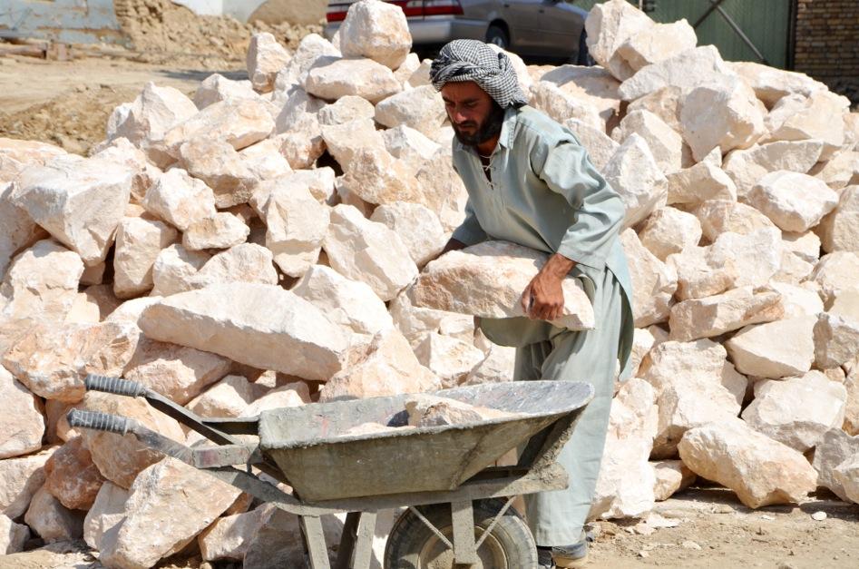 stone foundations _ photo by Airokhsh Faiz Qaisary