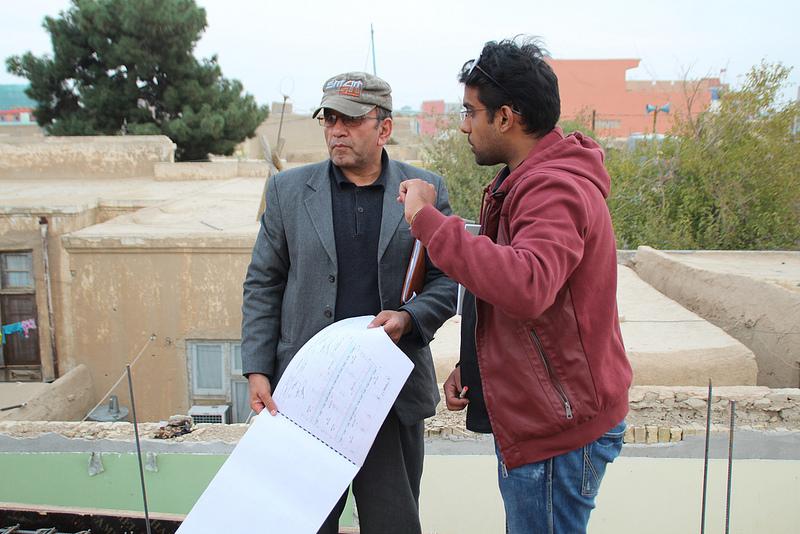 engineer Solaiman Salahi _ photo by Airokhsh Faiz Qaisary