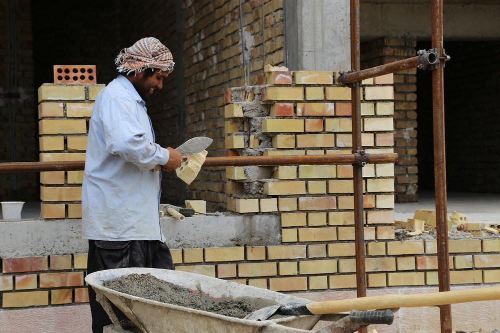 brick facade _ photo by Airokhsh Faiz Qaisary