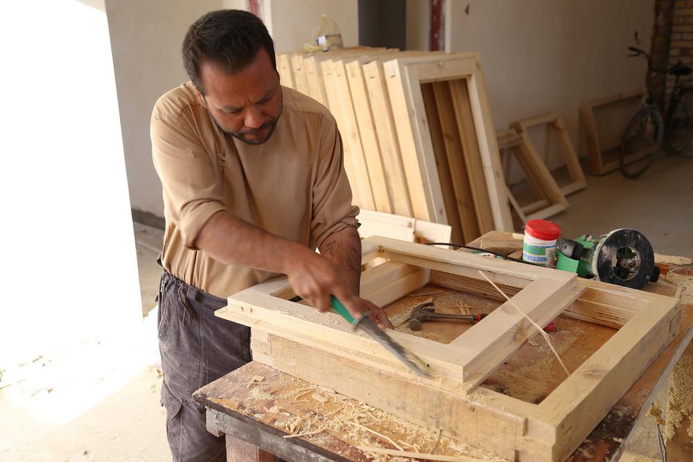 handcrafted windows _ photo by Airokhsh Faiz Qaisary