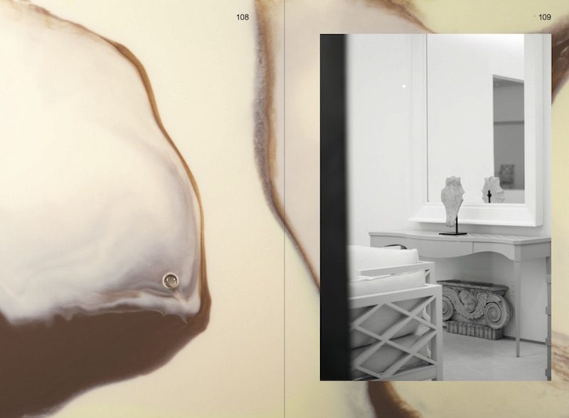 Luscious Creams, 2015, catalog spread,   Art, MFA, '15. The 2015 CalArts MFA Show