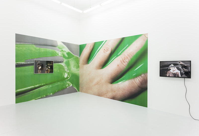 Installation view Double, 2017, fiebach, minninger, Cologne
