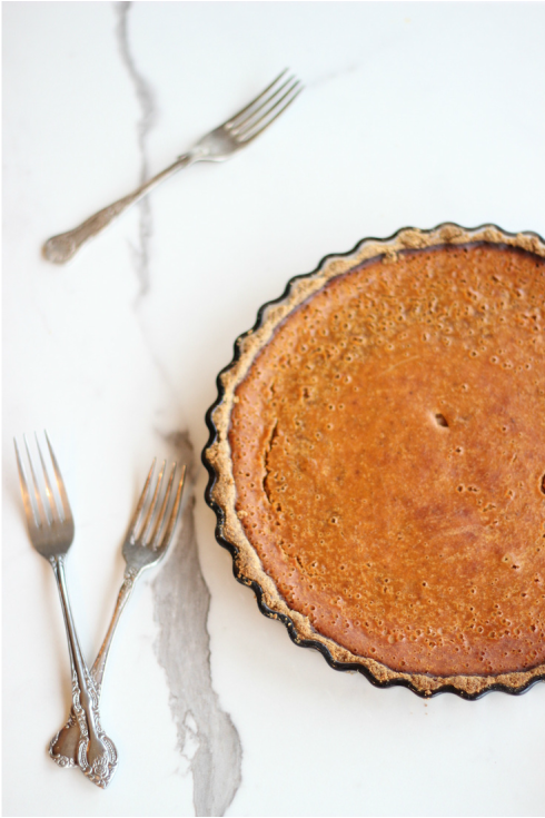 Golden Paleo Pumpkin Pie