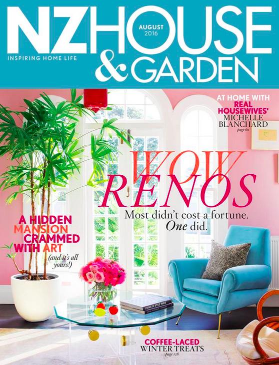NZ House + Garden Feature