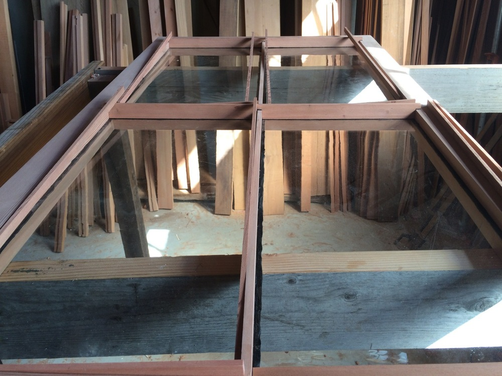 Redwood Window Glass Installation