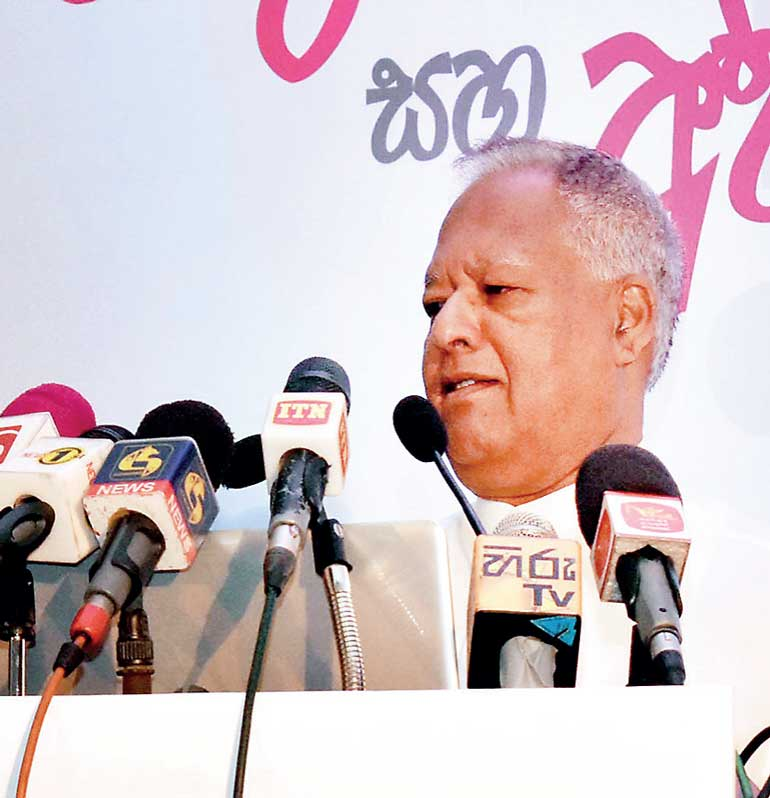 Dr. Sarath Amunugama Minister of Special Assignments