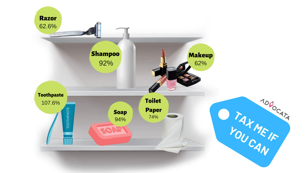 Personal Care items tax