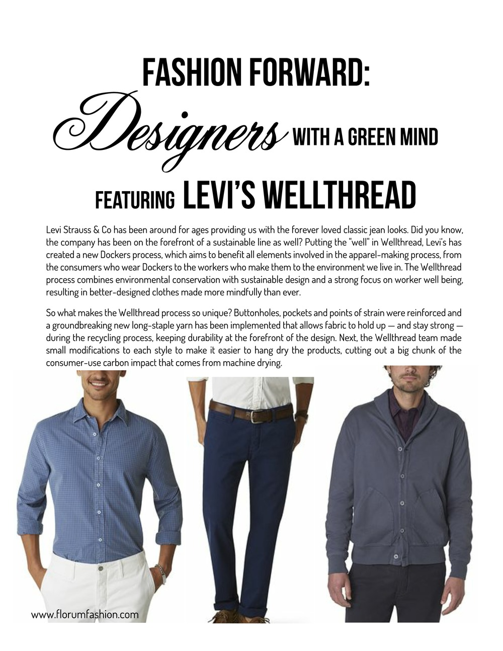 Levi's Wellthread Collection
