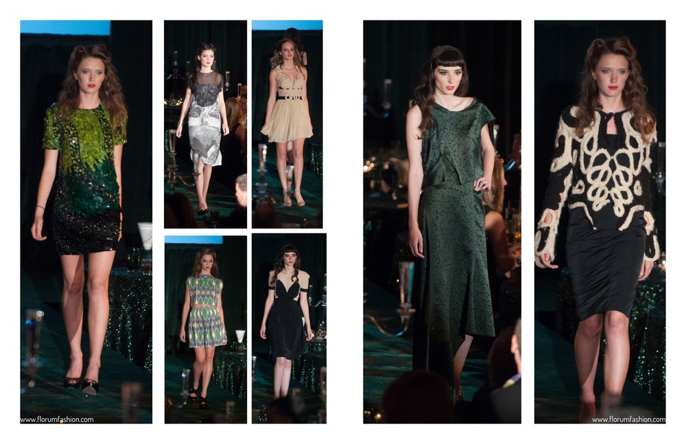 Runway Recap Emerald City Gorgeours and Green Gala Alyssa Moore Stars Model Management Florum Fashion Magazine