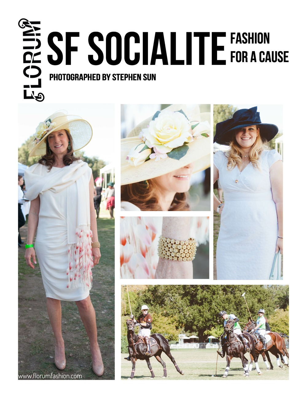 Polo for Lyme benefiting the Bay Area Lyme Foundation / Photographed by Stephen Sun