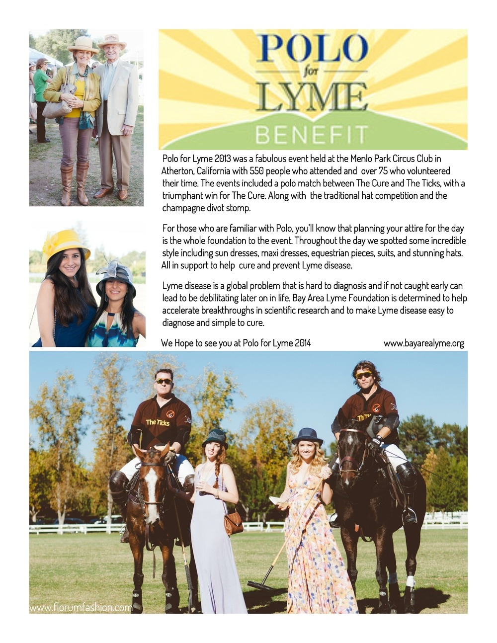 Polo for Lyme benefiting Bay Area Lyme Foundation / Photographed by Stephen Sun / Menlo Park Circus Club