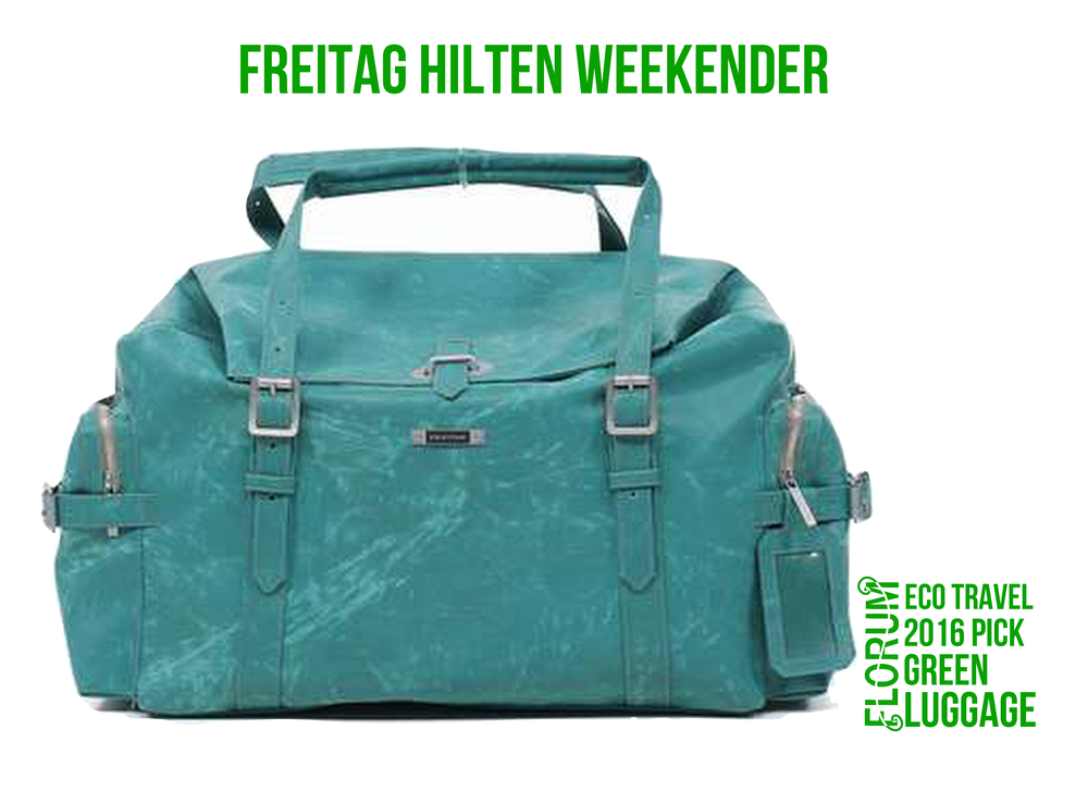 Florum Eco Travel 2016 Green Luggage Pick - Freitag Hilten Weekender - by Noelle Lynne.png