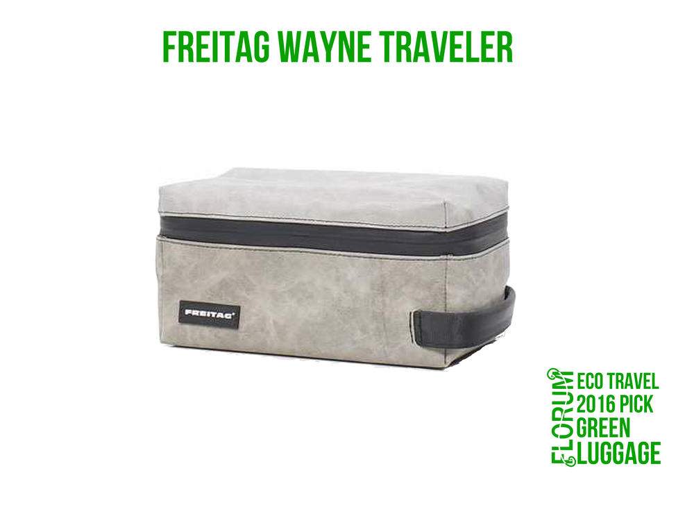 Florum Eco Travel 2016 Green Luggage Pick - Freitag Wayne Traveler - by Noelle Lynne