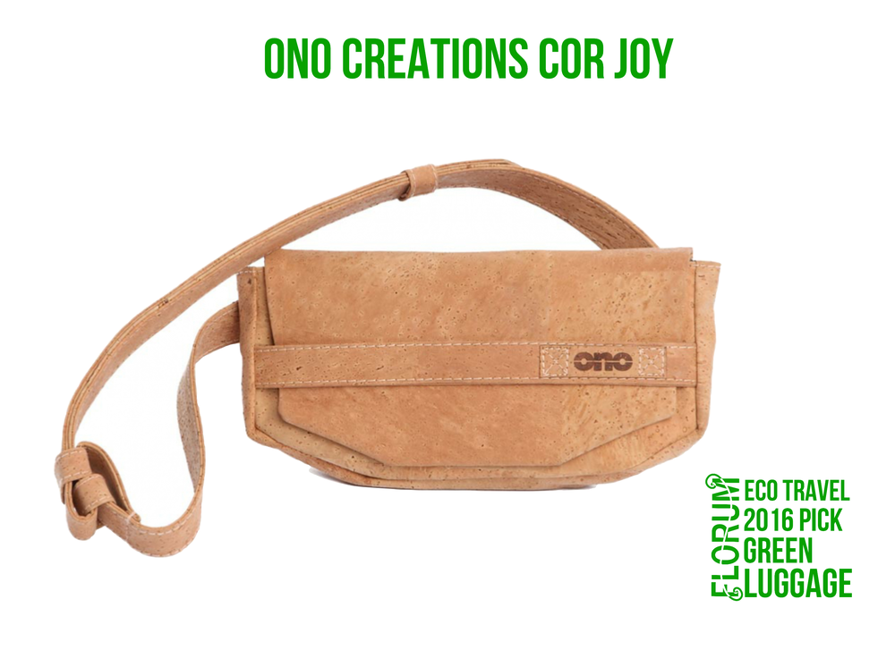 Florum Eco Travel 2016 Eco Luggage Pick - Ono Creations Cor Joy sustainable fannypack - Noelle Lynne