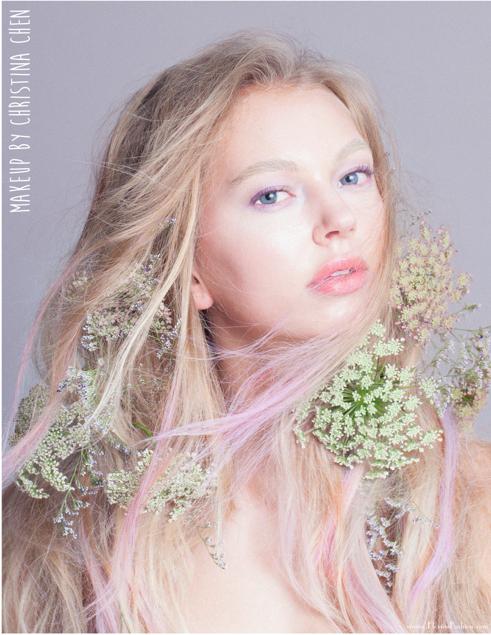 Bellezas Florales Webitorial - Florum Fashion Magazine - March 2016 - Natural Beauty - Vertical Image - organic Beauty page 3.png