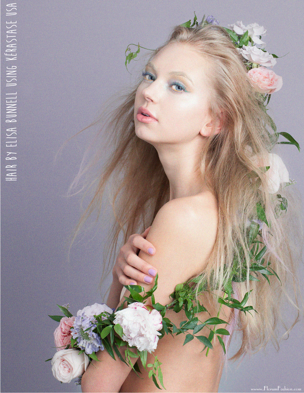 Bellezas Florales Webitorial - Florum Fashion Magazine - March 2016 - Natural Beauty - Vertical Image - organic Beauty page 5.png