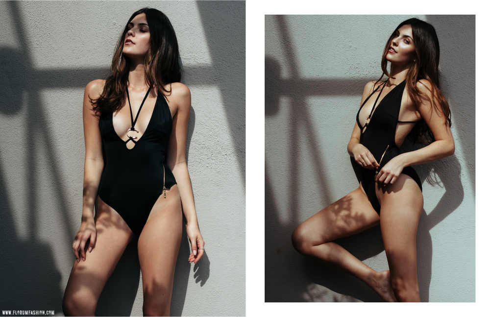 Charlotte Elizabeth Clough Luxury Swimwear - Florum Fashion Magazine - Stephen Sun - Julia Friedman - Photogenics LA - Slow Fashion - Ethical Fashion - One Piece Suit
