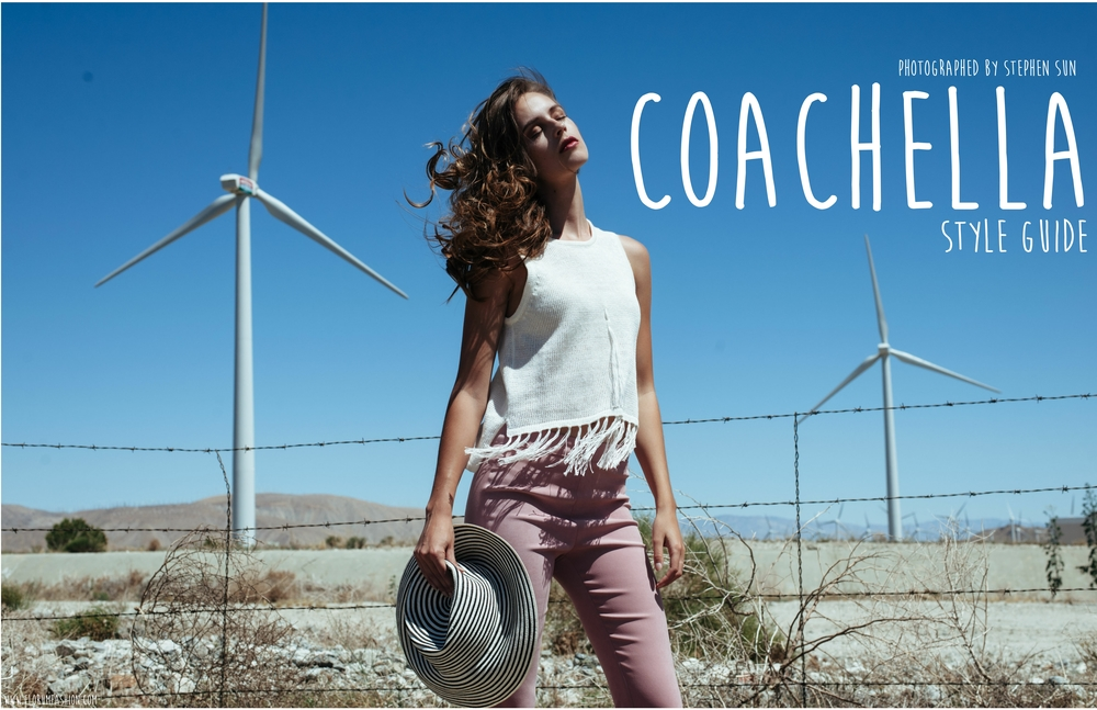 Coachella - Music Festival Style Guide - Photographed by Stephen Sun for Florum Fashion Magazine - Slow Fashion - Green Beauty - LA - Desert - Ethical - Sustainable