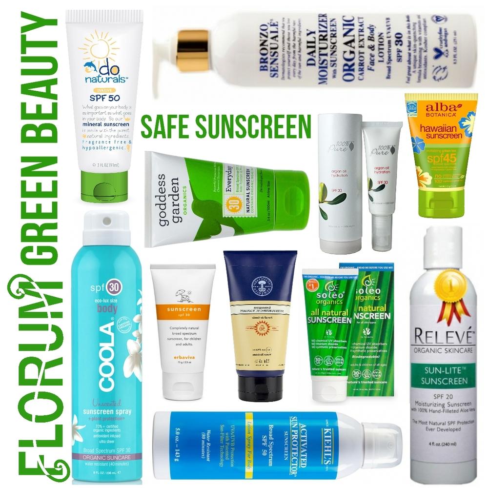 Safe Sunscreen - Instagram - Non Toxic Skincare - Noelle Lynne - Organic Suncream
