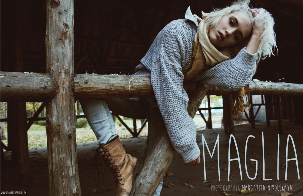 Maglia - Florum Fashion Magazine - Margarita Nikolskaya - Submission editorial - Anastasia Sergienko - Art Models Agency Russia - Victor Morozov - Green - Sustainable - Ethical - blonde model.jpg