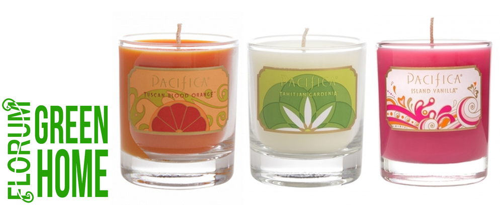 Buy soy wax Pacifica Candles HERE
