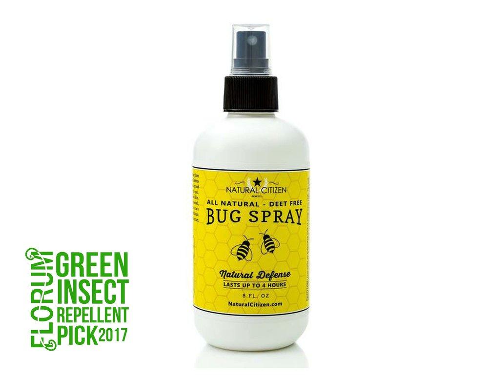 Natural Citizen - Deet Free Bug Spray $12.99