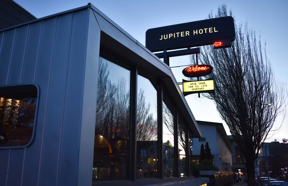 This hip renovated motel in South East Portland, Oregon is the perfect destination for any eco conscious traveler who wants an authentic Portland experience. The neighborhood is growing and full of unique boutiques, delicious restaurants, and great bars (not to mention that at Jupiter Hotel itself, you'll find a music venue called the Douglas Fir).The history and character on Burnside (neighborhood/street the hotel is located on/in) is one that will leave you feeling as if you are truly experiencing the 'hipster' side of this NW American City (I highly suggest watching  Portlandia  before heading up here, you'll get in some fantastic laughs about the unique city of Portland).