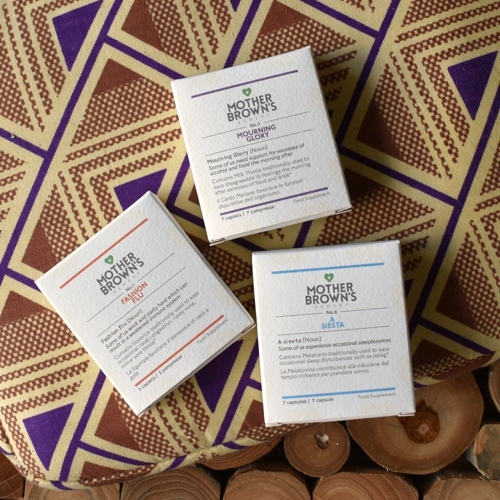 Mother Brown's Remedy - The Mother Brown's Remedy Travel Well Kit is completely vegan and contains supplements that help maintain your body when traveling by helping to balance your PH levels and optimize the functions of your body.Find the Travel Well Kit online HERE for £45.00