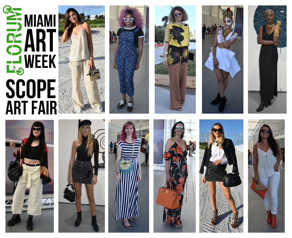 f9ad06bdbdd2 Street style from Scope International Contemporary Art Show in Miami beach  2017. photographer NOELLE LYNNE. photographer NOELLE LYNNE