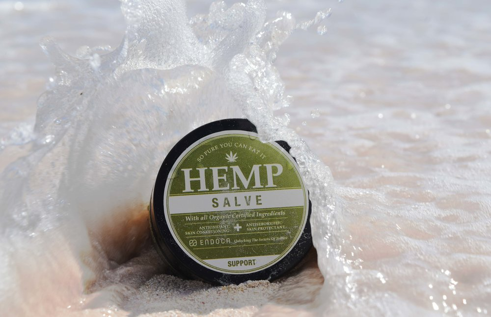 I am super prone to dry skin (especially when around salt water and salt air), so when I get those eczema like patches on my skin I have found this Hemp Salve from Endoca to be the best. You can seriously tell from how worn the label is that this little product has traveled far and wide with me. The antioxidants that are found in CBD are uncomparable in my opinion, and seriously work when my skin acts up.    You can  BUY  this organic skin conditioner  HERE  at Endoca's own website for €64.99