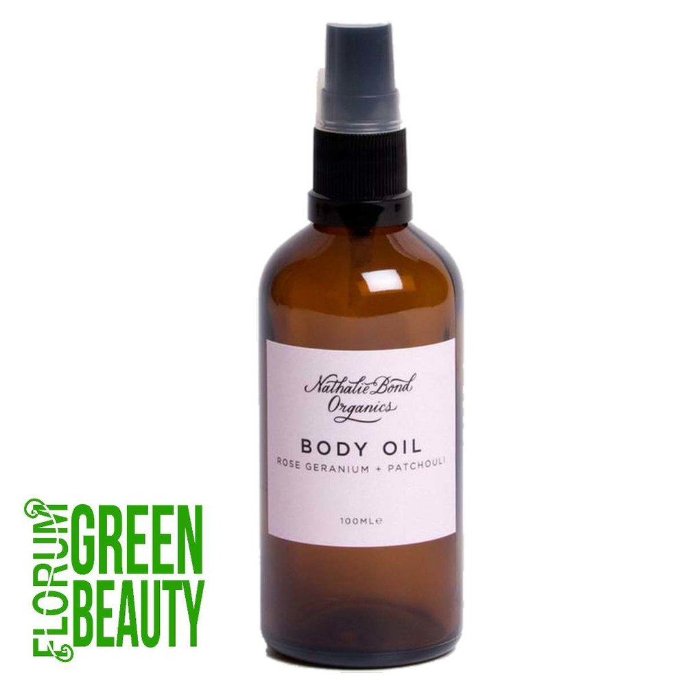 Nathalie Bond Organics (UK) - Rose Geranium & Patchouli Body Oil