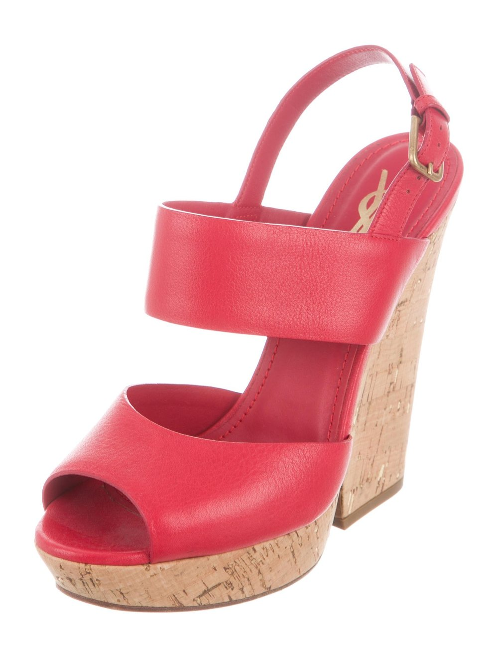 YSL Red Wedges - Purchased for $175Originally $895