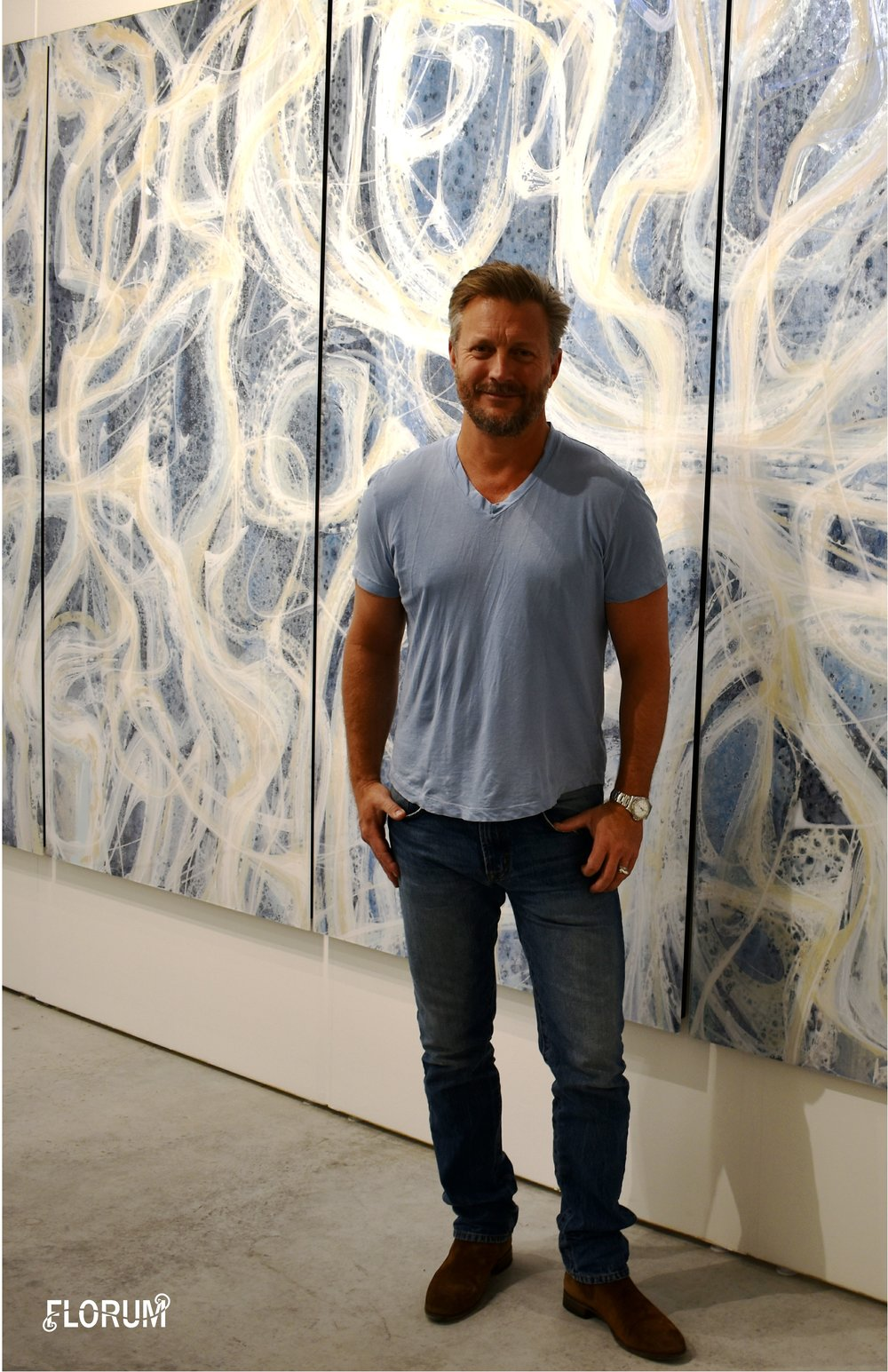 Christopher Martin - Aspen ColoradoOne of my favorite things about Art Basel is meeting so many artists and having the opportunity to talk with them.During Art Miami I had the pleasure to meet US based artist Christopher Martin who has showrooms in both Aspen and New York City.