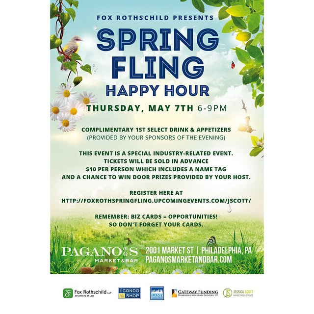 Tickets are now available for the Fox Rothschild Spring fling event!! Secure your spot here: http://bit.ly/foxroth