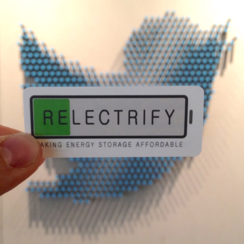 Relectrify at Twitter HQ