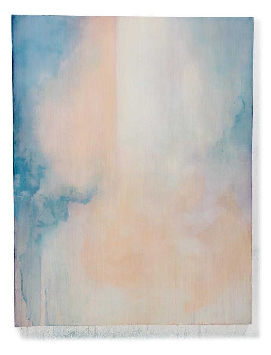 """Inward    80"""" x 62""""  oil on canvas  2015"""
