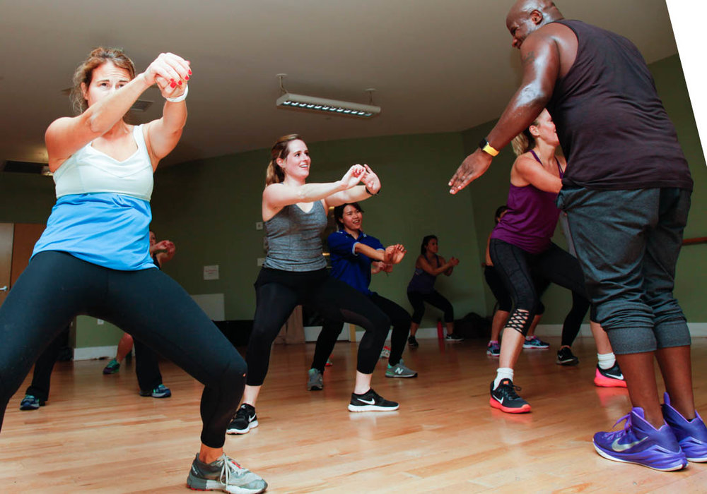 South Shore Athletic Club Zumba Class