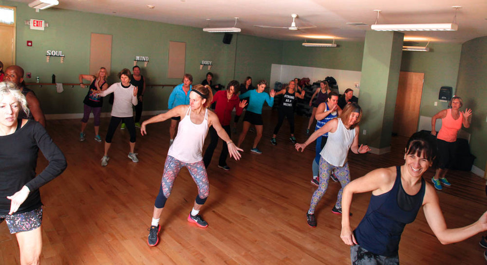 South Shore Athletic Club Zumba Class with Andre