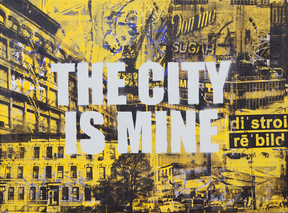 THE CITY IS MINE 30X40