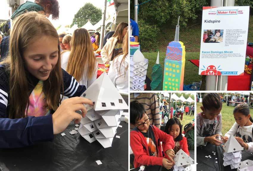 Kidspire at the Maker Faire 2018