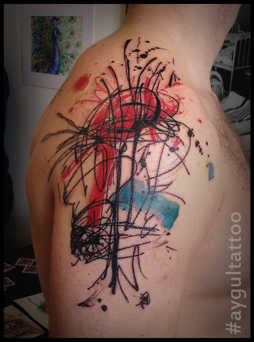 #abstract #color #aygultattoo