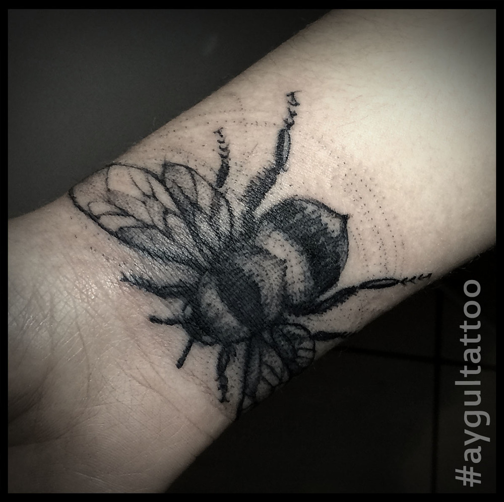 #bee #sketchy #aygultattoo