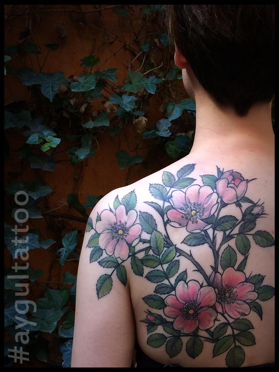 #dogrose #botanical #aygultattoo