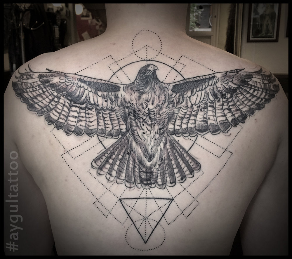 #eagle #sketchy #geometry #aygultattoo