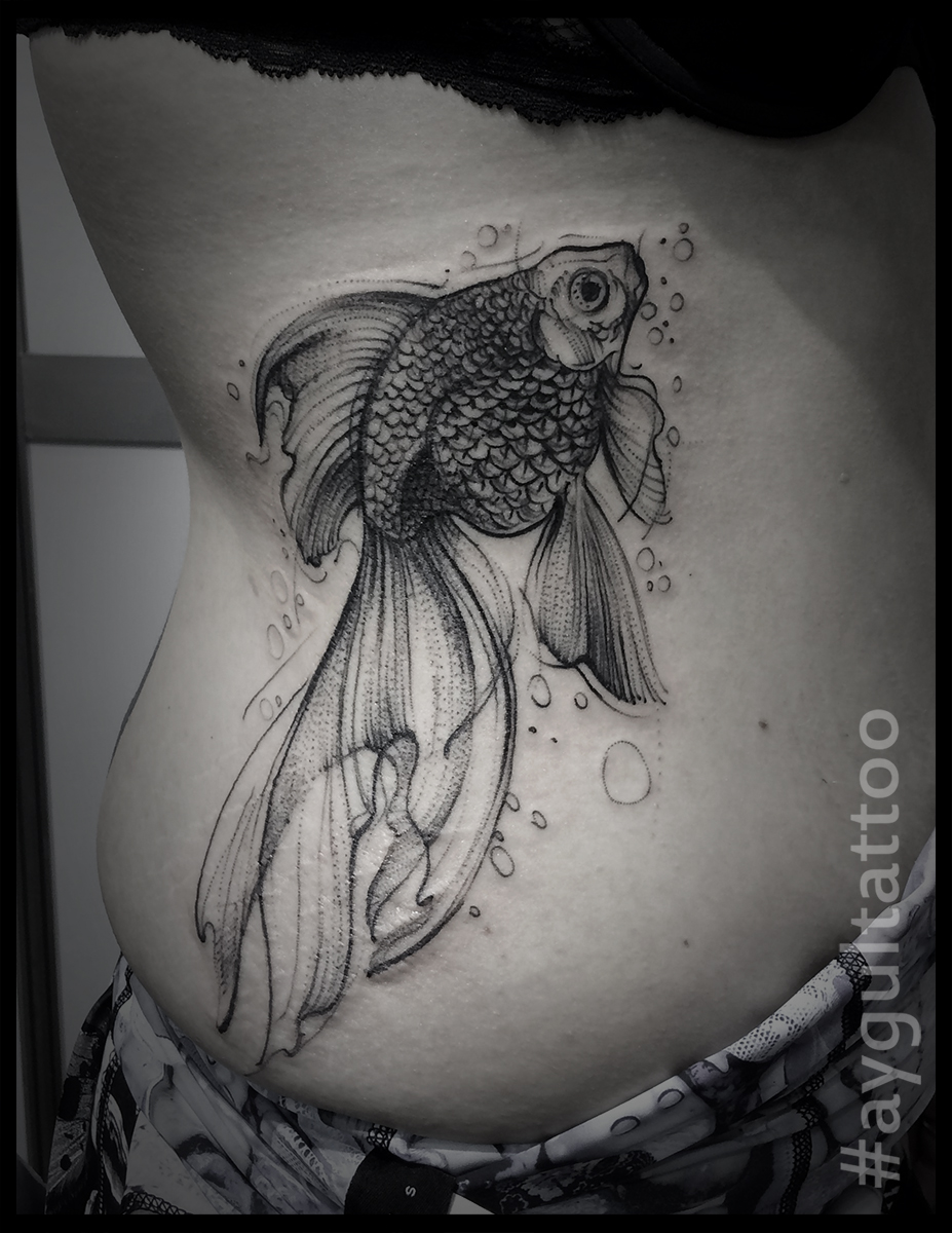#fish #sketchy #aygultattoo